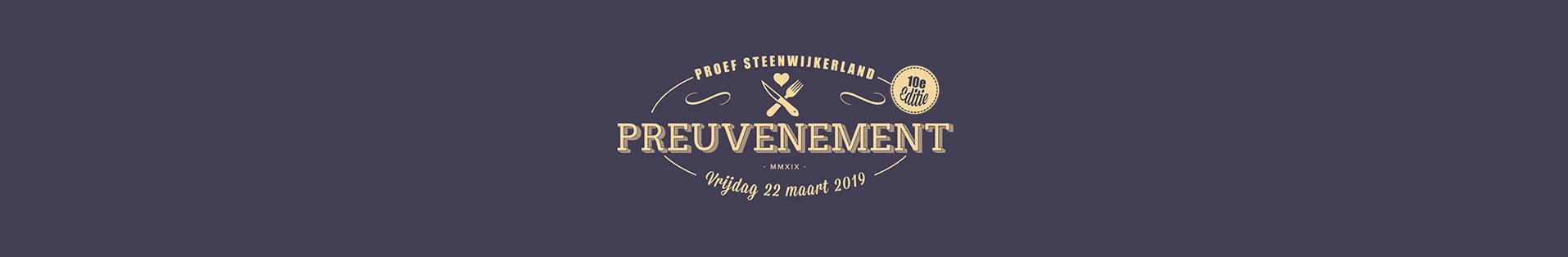 Proef Steenwijkerland 10e editie logo