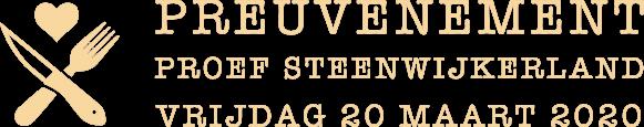 Proef Steenwijkerland